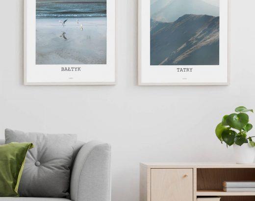 Plakaty krajobraz, pejzaże, miasta – naktórysię zdecydować?